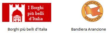 Bandiere Borghi più belli d'Italia