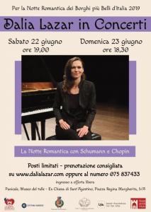 22-23 Giugno concerto Dalia Lazar Museo del Tulle